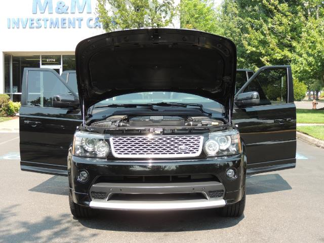2013 Land Rover Range Rover Sport Autobiography / Sport / Supercharged / 1-OWNER - Photo 32 - Portland, OR 97217