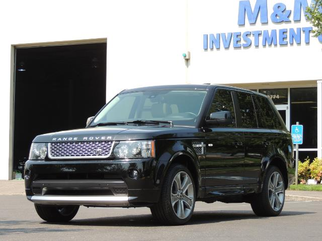 2013 Land Rover Range Rover Sport Autobiography / Sport / Supercharged / 1-OWNER - Photo 53 - Portland, OR 97217