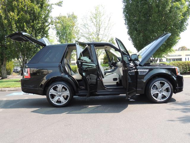 2013 Land Rover Range Rover Sport Autobiography / Sport / Supercharged / 1-OWNER - Photo 30 - Portland, OR 97217