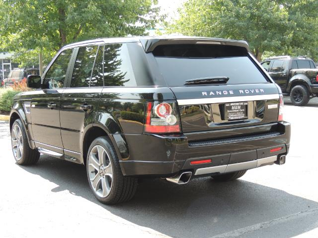 2013 Land Rover Range Rover Sport Autobiography / Sport / Supercharged / 1-OWNER - Photo 7 - Portland, OR 97217