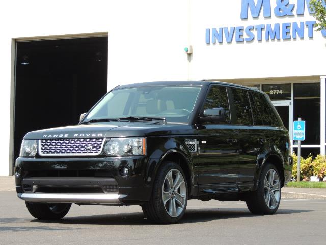 2013 Land Rover Range Rover Sport Autobiography / Sport / Supercharged / 1-OWNER - Photo 45 - Portland, OR 97217