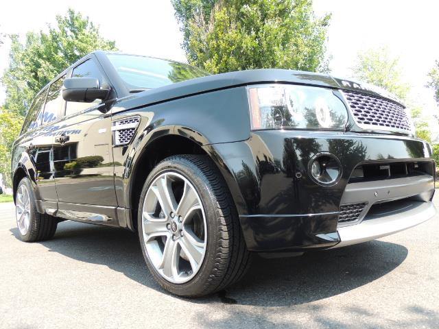 2013 Land Rover Range Rover Sport Autobiography / Sport / Supercharged / 1-OWNER - Photo 10 - Portland, OR 97217
