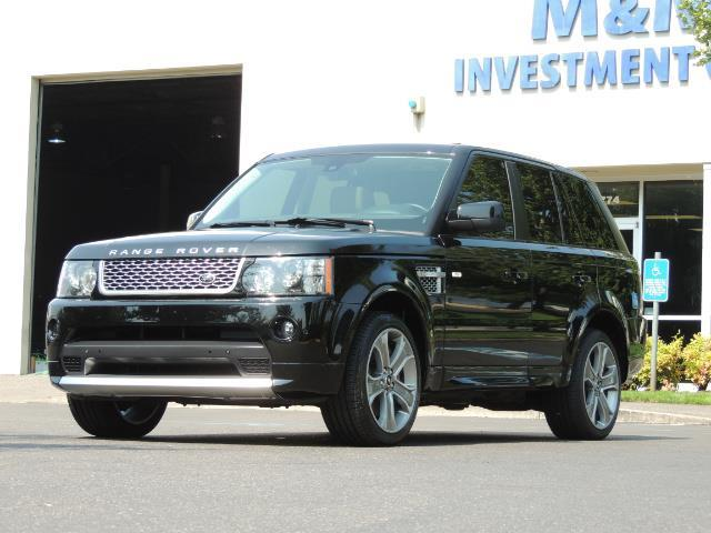 2013 Land Rover Range Rover Sport Autobiography / Sport / Supercharged / 1-OWNER - Photo 54 - Portland, OR 97217