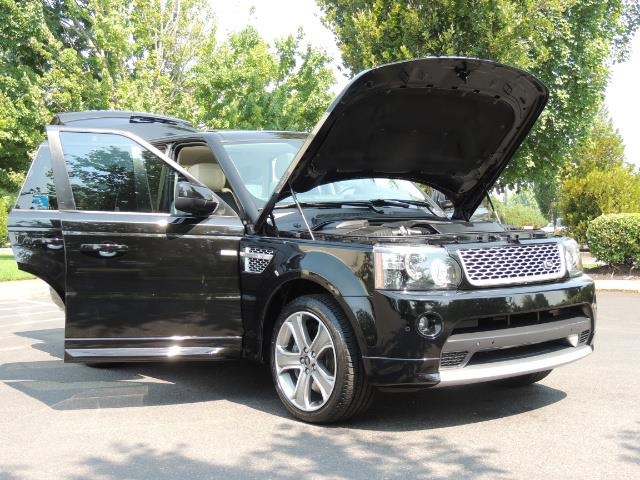 2013 Land Rover Range Rover Sport Autobiography / Sport / Supercharged / 1-OWNER - Photo 31 - Portland, OR 97217