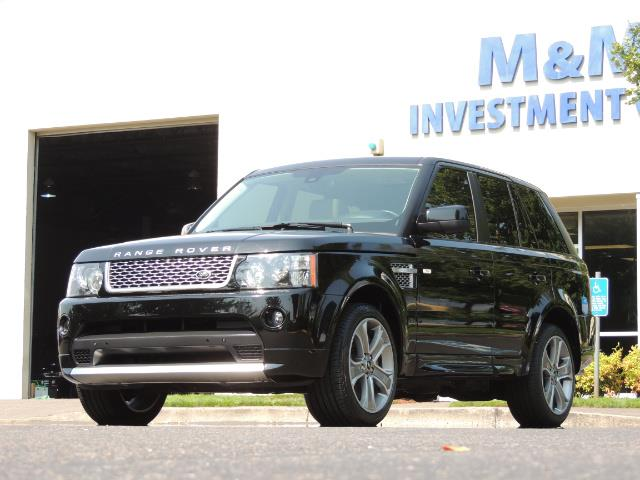 2013 Land Rover Range Rover Sport Autobiography / Sport / Supercharged / 1-OWNER - Photo 48 - Portland, OR 97217