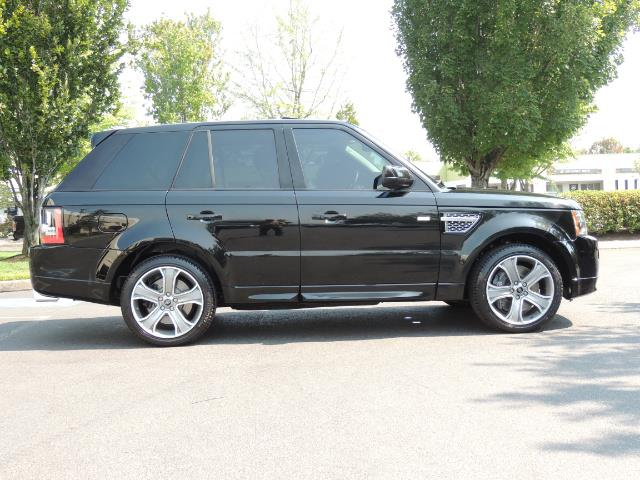 2013 Land Rover Range Rover Sport Autobiography / Sport / Supercharged / 1-OWNER - Photo 4 - Portland, OR 97217