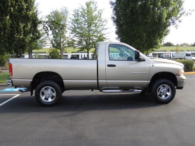 2004 dodge ram 2500 4x4 longbed 5 9l cummins diesel 6 speed manual. Black Bedroom Furniture Sets. Home Design Ideas