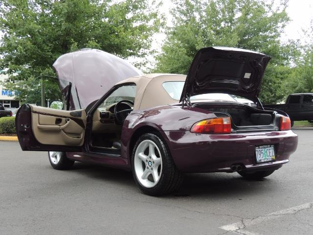 1998 BMW Z3 2.8 / Convertible / 5-SPEED / NEW TOP / Excel Cond - Photo 27 - Portland, OR 97217