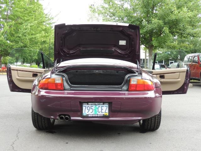 1998 BMW Z3 2.8 / Convertible / 5-SPEED / NEW TOP / Excel Cond - Photo 28 - Portland, OR 97217