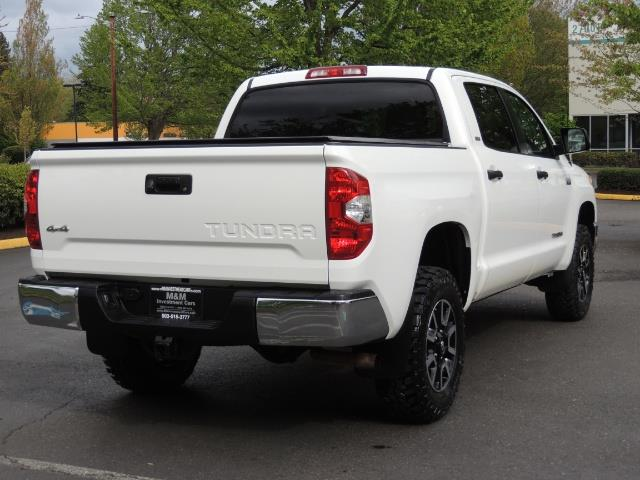 2014 Toyota Tundra SR5 / CrewMax / 4X4 / 5.7L / LEATHER / 1-Owner - Photo 8 - Portland, OR 97217