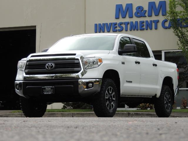 2014 Toyota Tundra SR5 / CrewMax / 4X4 / 5.7L / LEATHER / 1-Owner - Photo 34 - Portland, OR 97217