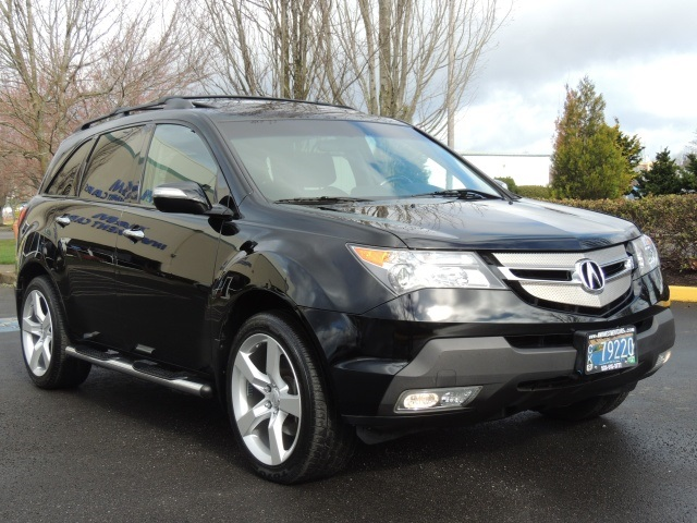2007 acura mdx awd sport tech packages every possible option. Black Bedroom Furniture Sets. Home Design Ideas