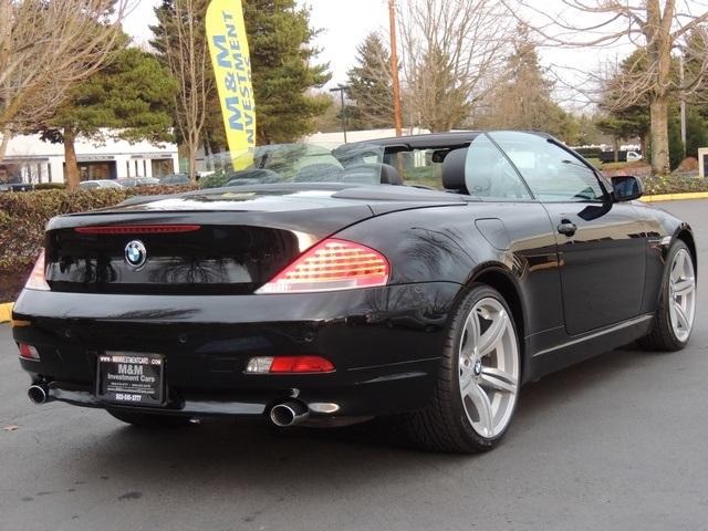 2005 BMW 645Ci Convertible  6 SPEED M6 Wheels  PRISTINE