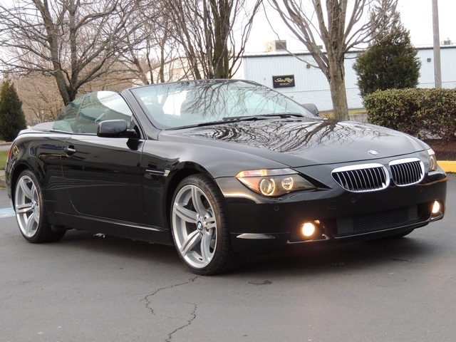2005 bmw 645ci convertible 6 speed m6 wheels pristine. Black Bedroom Furniture Sets. Home Design Ideas