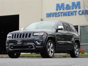 2016 Jeep Grand Cherokee Overland / AWD / Pano Sunroof / Navi / Bckup Cam SUV