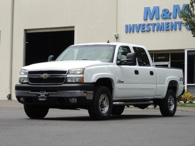2007 Chevrolet Silverado 2500 LT / 4X4 / 6.6L DURAMAX DIESEL / 1-OWNER - Photo 1 - Portland, OR 97217
