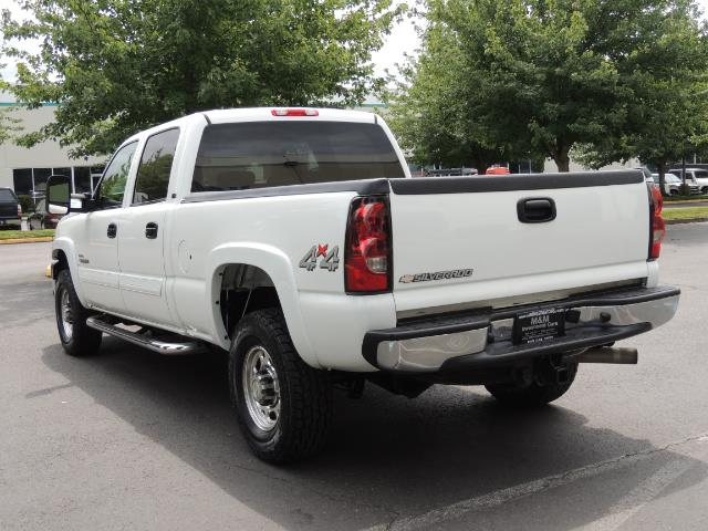2007 Chevrolet Silverado 2500 LT / 4X4 / 6.6L DURAMAX DIESEL / 1-OWNER - Photo 7 - Portland, OR 97217