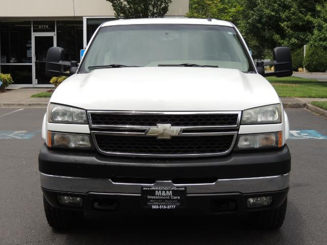 2007 Chevrolet Silverado 2500 LT / 4X4 / 6.6L DURAMAX DIESEL / 1-OWNER - Photo 5 - Portland, OR 97217