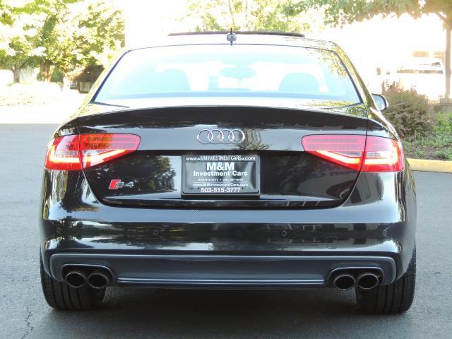 2014 Audi S4 3.0T quattro Premium Plus / 1-Owner / New Tires - Photo 6 - Portland, OR 97217