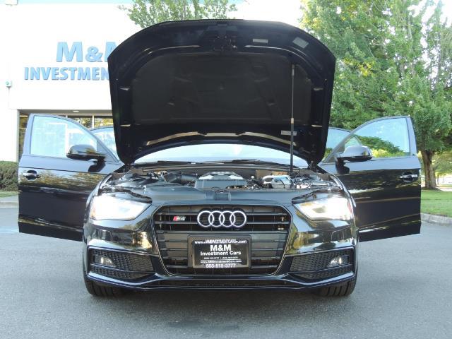 2014 Audi S4 3.0T quattro Premium Plus / 1-Owner / New Tires - Photo 34 - Portland, OR 97217