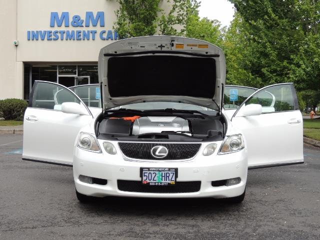 2007 Lexus GS 450 Hybrid 3.5L Navi Backup Camera Moonroof 28MPH - Photo 30 - Portland, OR 97217