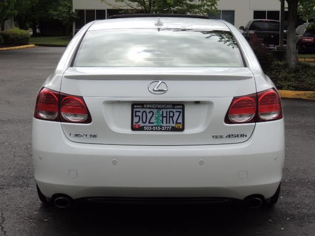 2007 Lexus GS 450 Hybrid 3.5L Navi Backup Camera Moonroof 28MPH - Photo 7 - Portland, OR 97217