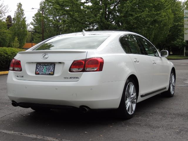 2007 Lexus GS 450 Hybrid 3.5L Navi Backup Camera Moonroof 28MPH - Photo 8 - Portland, OR 97217