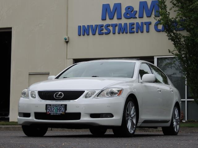 2007 Lexus GS 450 Hybrid 3.5L Navi Backup Camera Moonroof 28MPH - Photo 46 - Portland, OR 97217