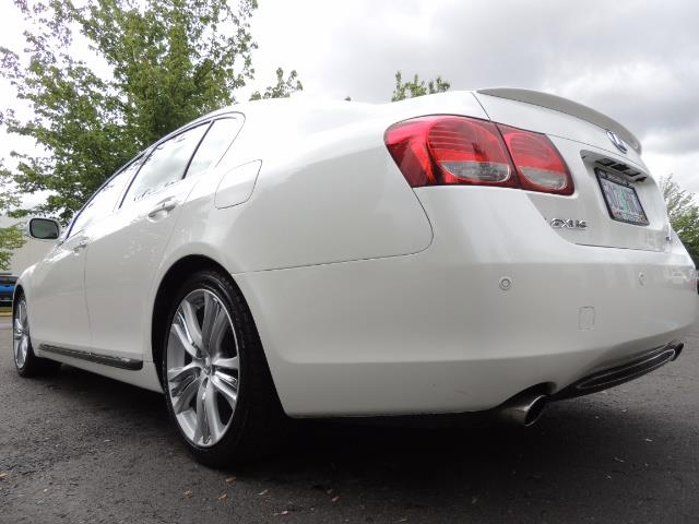 2007 Lexus GS 450 Hybrid 3.5L Navi Backup Camera Moonroof 28MPH - Photo 23 - Portland, OR 97217