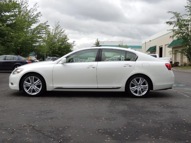 2007 Lexus GS 450 Hybrid 3.5L Navi Backup Camera Moonroof 28MPH - Photo 4 - Portland, OR 97217