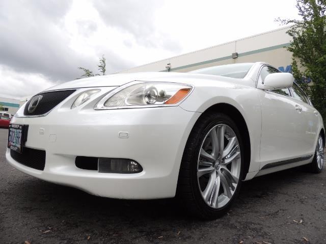 2007 Lexus GS 450 Hybrid 3.5L Navi Backup Camera Moonroof 28MPH - Photo 42 - Portland, OR 97217