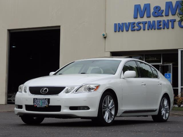 2007 Lexus GS 450 Hybrid 3.5L Navi Backup Camera Moonroof 28MPH - Photo 1 - Portland, OR 97217