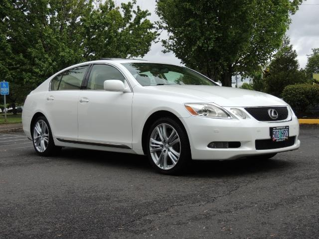 2007 Lexus GS 450 Hybrid 3.5L Navi Backup Camera Moonroof 28MPH - Photo 2 - Portland, OR 97217