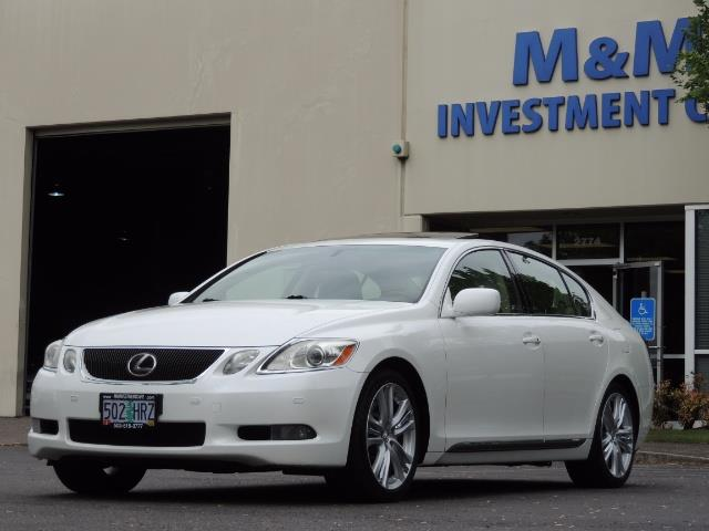 2007 Lexus GS 450 Hybrid 3.5L Navi Backup Camera Moonroof 28MPH - Photo 43 - Portland, OR 97217