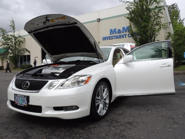 2007 Lexus GS 450 Hybrid 3.5L Navi Backup Camera Moonroof 28MPH - Photo 25 - Portland, OR 97217