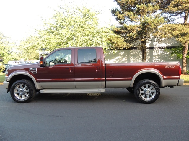 2008 Ford F 350 King Ranch 4x4 Crew Cab Long Bed