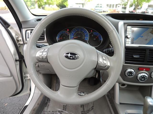 2009 Subaru Forester 2.5 X Limited NAVI / LEATHER / AWD RACK - Photo 36 - Portland, OR 97217