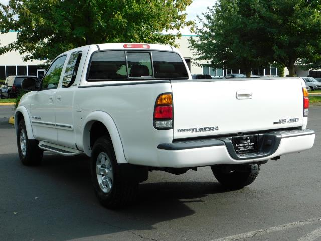 2003 Toyota Tundra Limited 4dr Access Cab Limited / 4X4 / 1-OWNER - Photo 7 - Portland, OR 97217