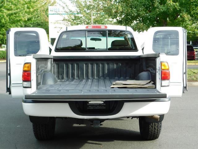 2003 Toyota Tundra Limited 4dr Access Cab Limited / 4X4 / 1-OWNER - Photo 21 - Portland, OR 97217