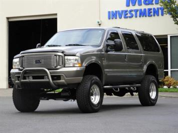 2002 Ford Excursion Limited / 4X4 / 7.3L DIESEL / LIFTED LIFTED SUV