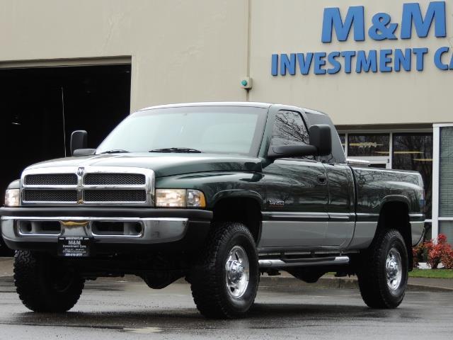 2001 Dodge Ram 2500 Quad Cab / 4X4 / 5.9 L Cummins Diesel / 102K MILES - Photo 39 - Portland, OR 97217