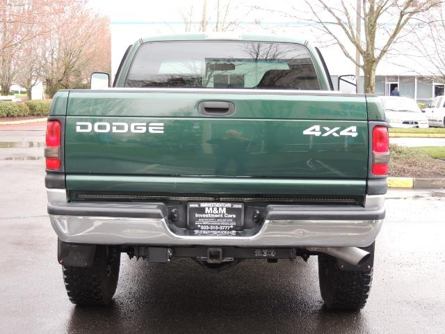 2001 Dodge Ram 2500 Quad Cab / 4X4 / 5.9 L Cummins Diesel / 102K MILES - Photo 6 - Portland, OR 97217