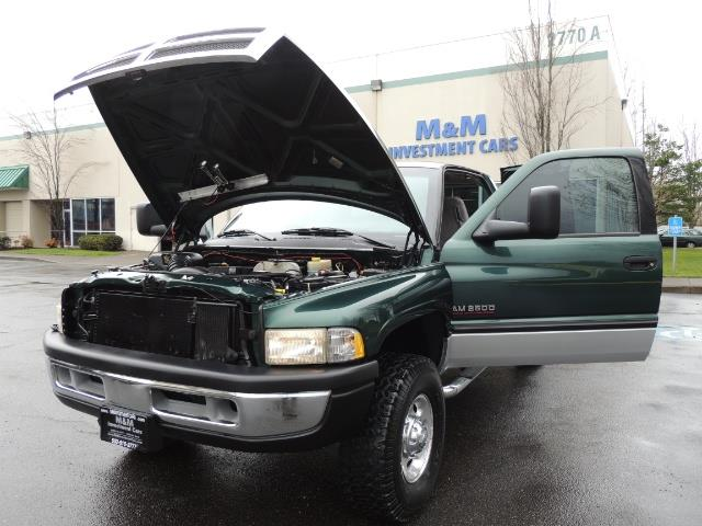 2001 Dodge Ram 2500 Quad Cab / 4X4 / 5.9 L Cummins Diesel / 102K MILES - Photo 25 - Portland, OR 97217