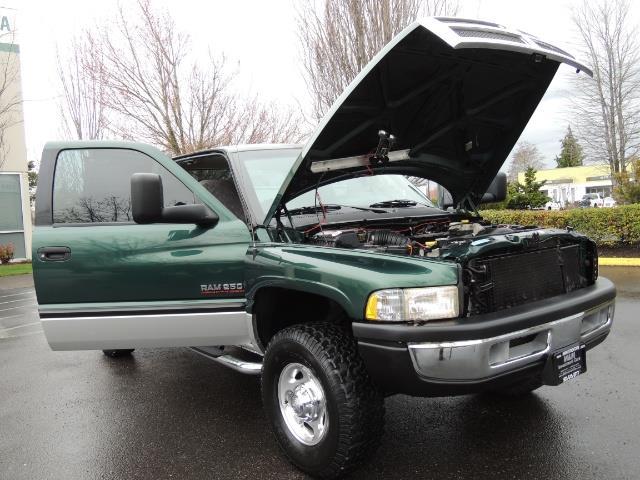 2001 Dodge Ram 2500 Quad Cab / 4X4 / 5.9 L Cummins Diesel / 102K MILES - Photo 29 - Portland, OR 97217