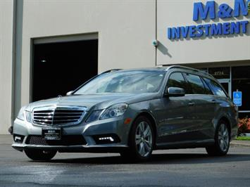2011 Mercedes-Benz E 350 Luxury 4MATIC / Sport Wagon / REAR SEAT Wagon