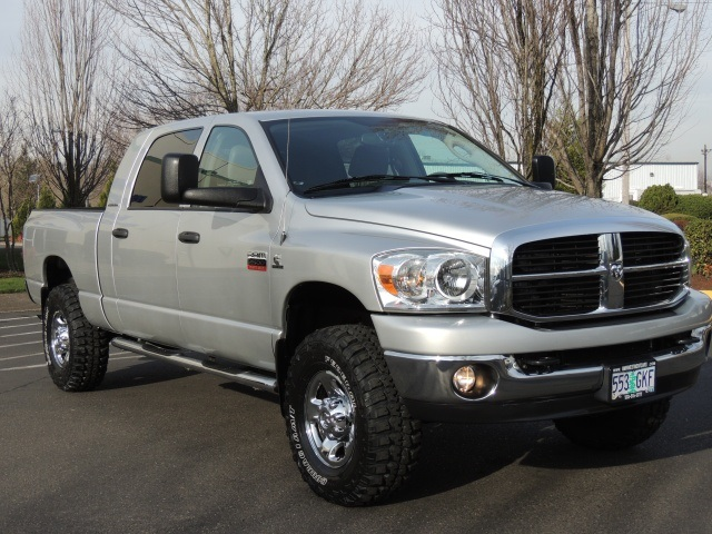 2007 dodge ram 2500 mega cab diesel. Black Bedroom Furniture Sets. Home Design Ideas