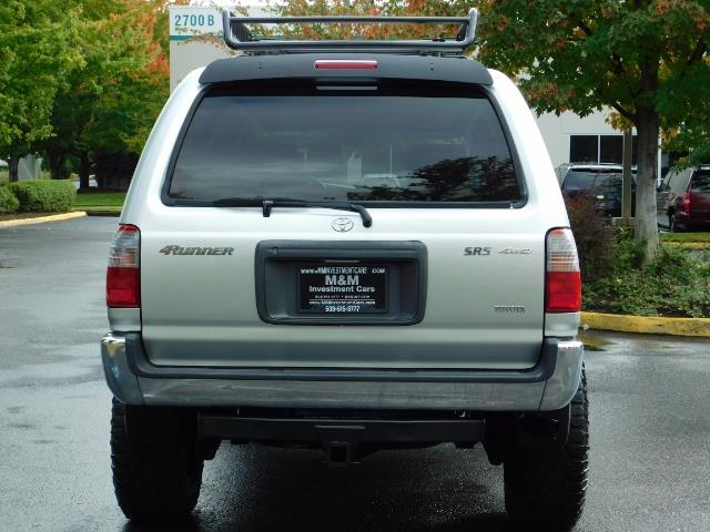 2000 Toyota 4Runner SR5 / 4WD / V6 3.4 L / Luggage Rack / LIFTED !! - Photo 6 - Portland, OR 97217