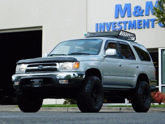 2000 Toyota 4Runner SR5 / 4WD / V6 3.4 L / Luggage Rack / LIFTED !! - Photo 1 - Portland, OR 97217