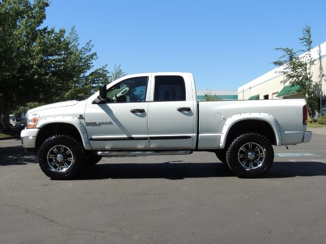 "2006 Dodge Ram 2500 Laramie 5.9L Quad Cab 4WD LIFTED / 35 ""MUD LOWMILES - Photo 4 - Portland, OR 97217"