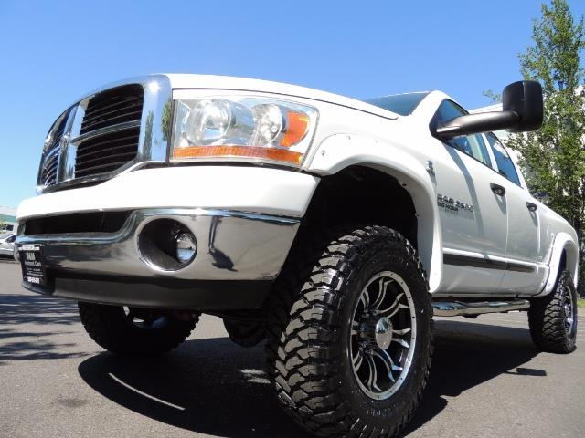 "2006 Dodge Ram 2500 Laramie 5.9L Quad Cab 4WD LIFTED / 35 ""MUD LOWMILES - Photo 24 - Portland, OR 97217"